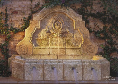 outdoor-limestone-wall-fountain-antique-old-stone