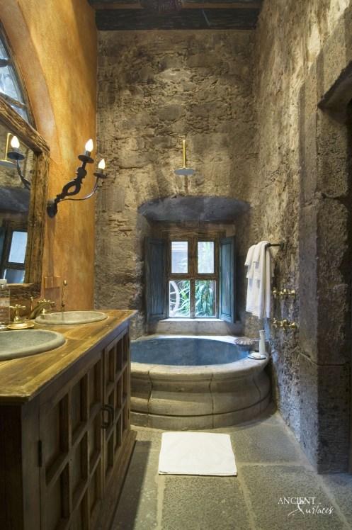 beautiful-limestone-bathroom-floors-with-a-limestone-tub
