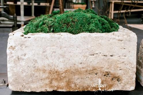 Limestone-stone-planter-Home-Decor-Antiques-Authentic-European-Design-Interior-Furniture