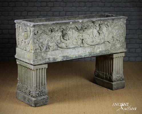 Limestone-stone-planter-Home-Decor-Antiques-Authentic-European-Design-Interior-Furniture-4