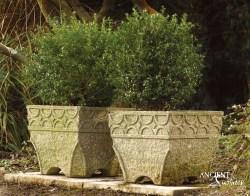 Old-Limestone-stone-planter-Home-Decor-Antiques-Authentic-European-Design-Interior-Furniture