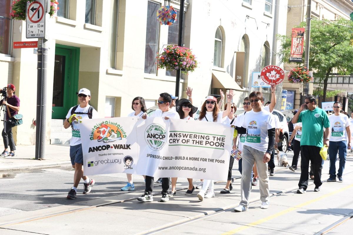 ANCOP AGT and MCG heads GTA Walk