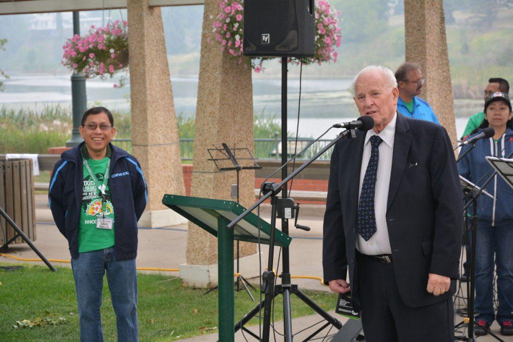 Mayor Norman Mayer of Camrose City Council