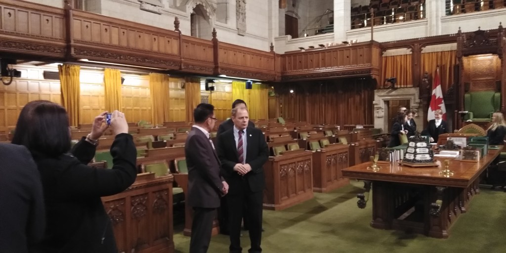 Bro Ricky at the House of Commons