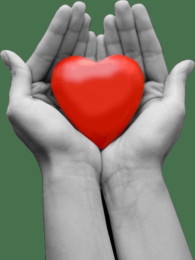 Heart Hand Logo