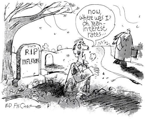 Raising Inflation Cartoon