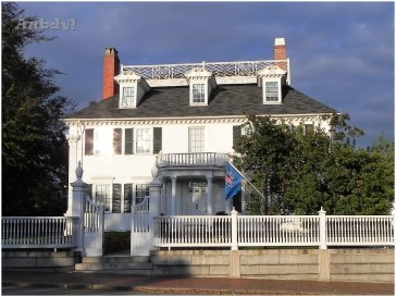 Gov. John Langdon House (1784) in Pleasant Street a Portsmouth