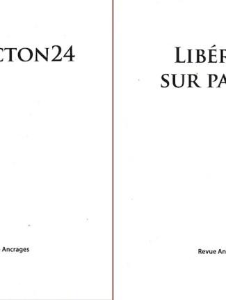Nos 6-7. Moncton24 et Libéré(e) sur parole