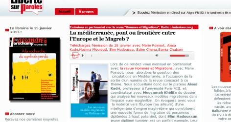 la mediterranee pont ou frontiere entre Europe et Maghreb