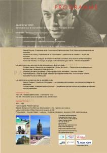 Programme Hommage à Albert Camus Oran