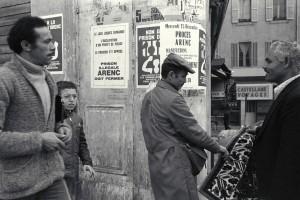 ©J. Windenberger - affiches contre la prison illégale d'Arenc - 24/01/1976
