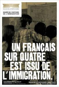 Un français sur quatre est issu de l'immigration © Musée de l'histoire de l'immigration-Palais de la Porte Dorée