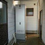 エコキュート460Lを取付けて、電気温水器のお湯切れから開放されました(福島町)
