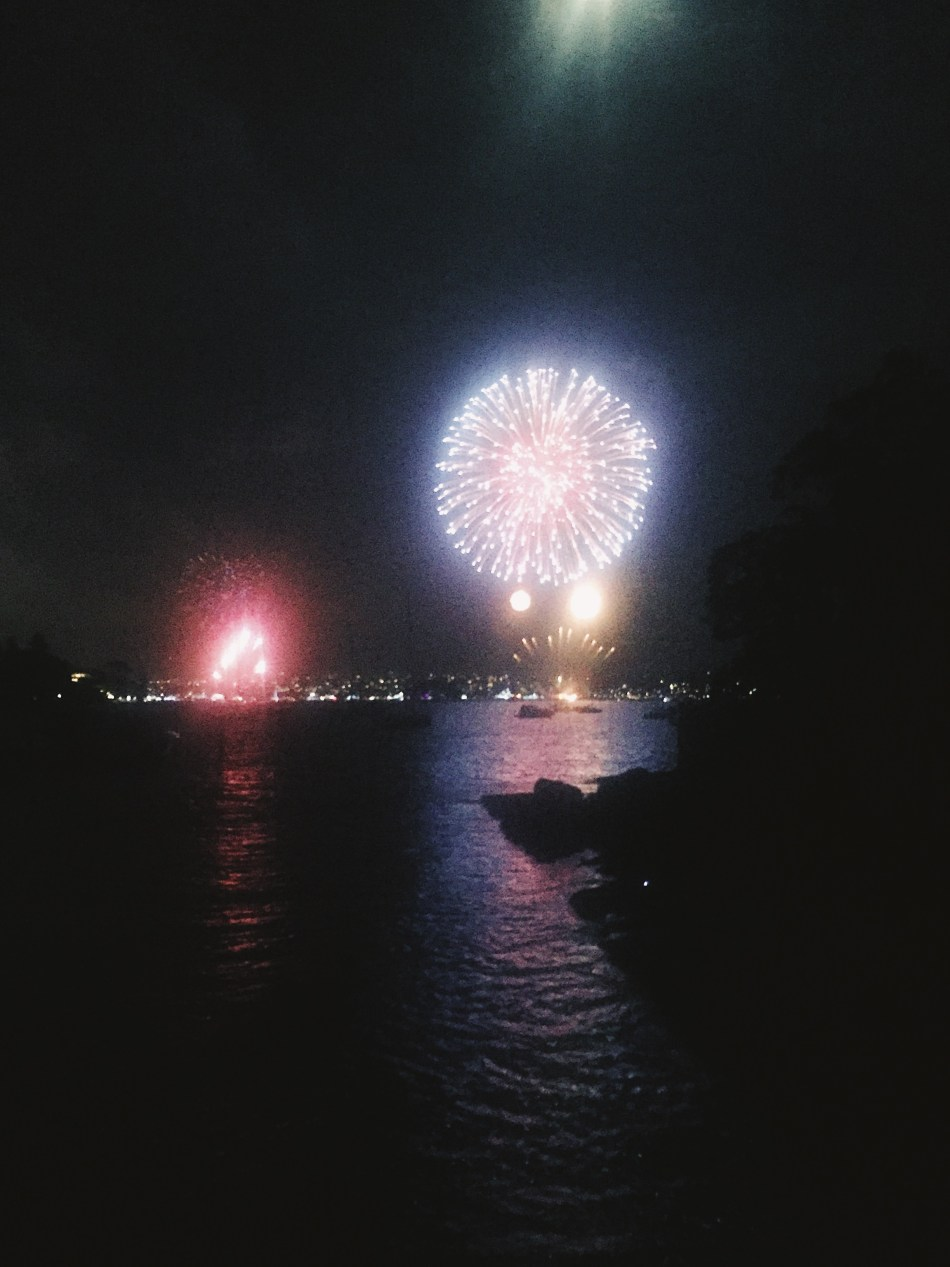 Ringing in the New Year in Sydney