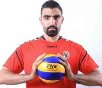 احمد صلاح لاعب الكرة الطائرة التفاصيل الكاملة للاعب