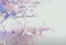 انفجار الولايات المتحدة الامريكية مدينة ناشفيل في ولاية تينيسي