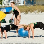 Stability ball planks