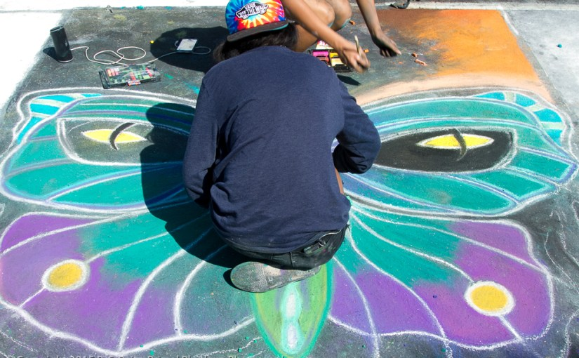 Lake Worth Street Painting Festival 2015