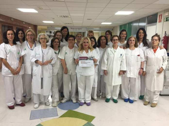 grupoenfermeroORL Hospital Macarena Sevilla