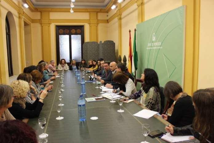 Reunion con mujeres pesca en Malaga