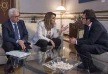 Reunión José María González con Susana Díaz