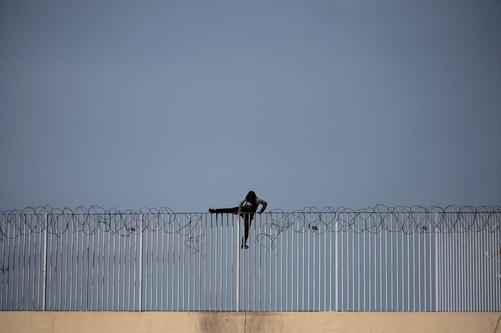 Menores no acompañados en Ceuta