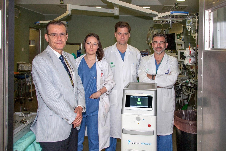 laser urologia virgen del rocio