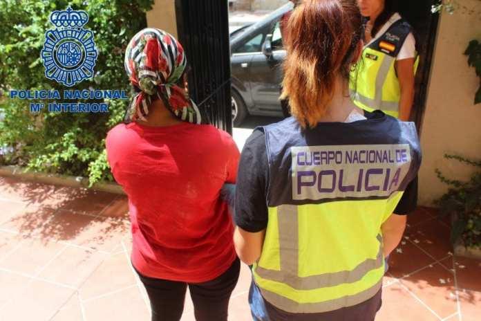 La Policía Nacional libera a diez mujeres prostituidas en Málaga