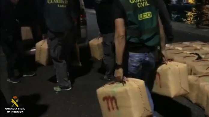 Organizacion narcotrafico Canarias