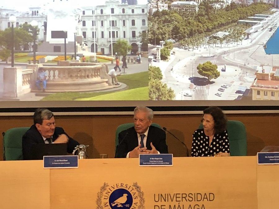 Mario Vargas Llosa en la UMA