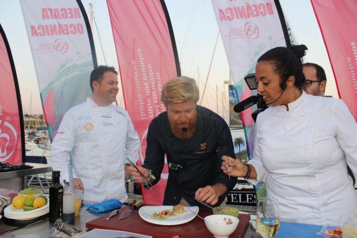 SHOW COOKING DANIEL DEL TORO REGATA OCEANICA