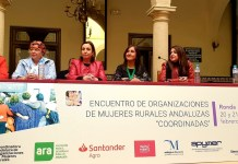 Ana María Corredera en el Encuentro de Organizaciones de Mujeres Rurales de Ronda