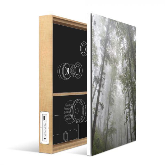 Energy Sistemaltavoces sobre lienzos