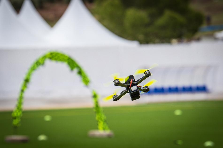 Drones FIA El Yelmo