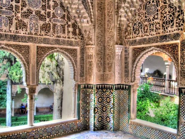 منظرة دار عائشة - قصر الحمراء - غرناطة
