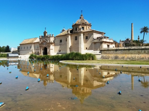 Il Monastero della Cartuja di Siviglia.