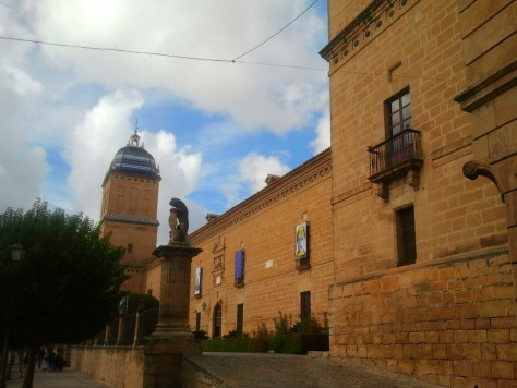 L'Hospital de los Honrados Viejos del Salvador di Úbeda.