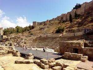 Cosa vedere a Malaga - teatro romano