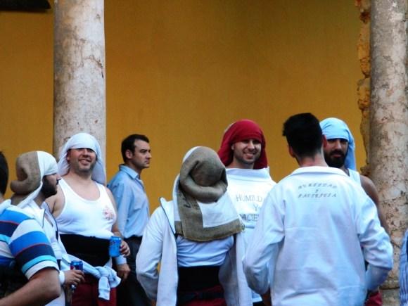 Semana santa andalusia costaleros cordoba