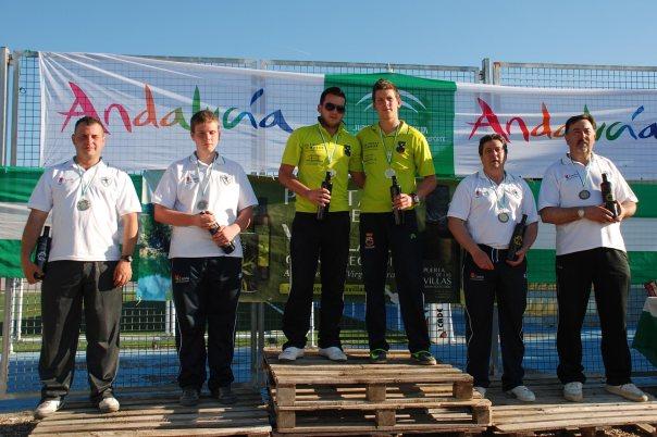 Podium-1ª-categoria-Campeontato-Andalucia-Bolo-Andaluz-parejas