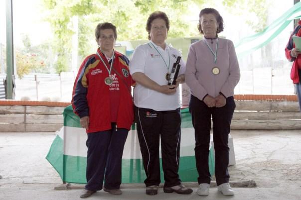 podium veteranas campeonato andalucia bolo andaluz montaña 2013