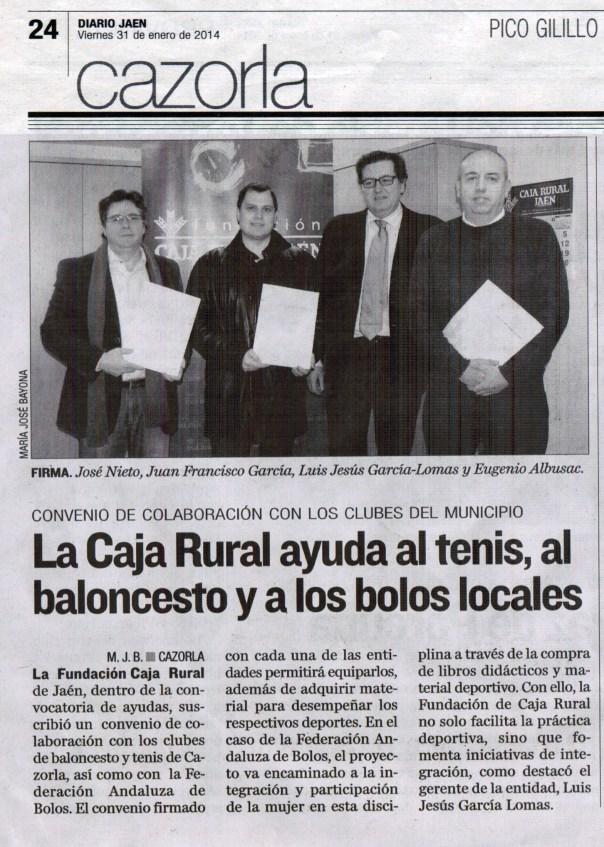 recorte diario Jaen Fundacion caja rural 1