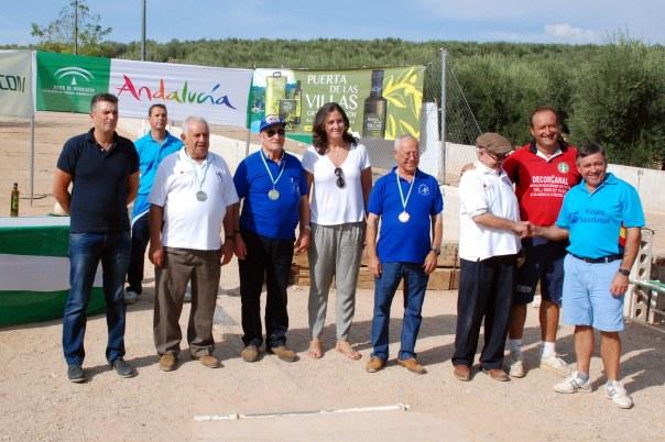 Podium-Veteranos-B-Campeonato-de-Andalucia-Bolo-Andaluz-Montaña-2014