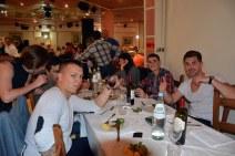 Cena social Festival European Games Days 12