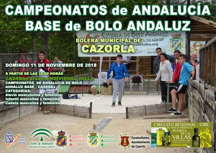 CARTEL CAMPEONATOS DE ANDALUCÍA DE BOLO ANDALUZ copia