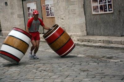 Rodalores barriles Festival European Games Days 01