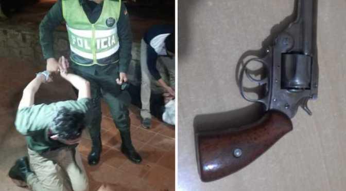 Dos motochorros atracan con un arma de fuego a un joven en Yacuiba