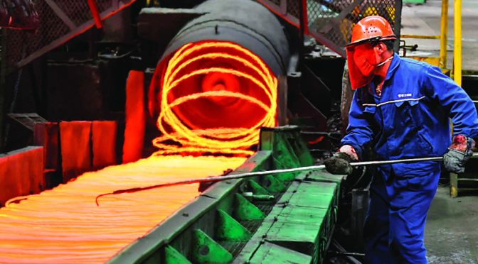 EEUU anuncia restricciones a importaciones de acero de Brasil y México