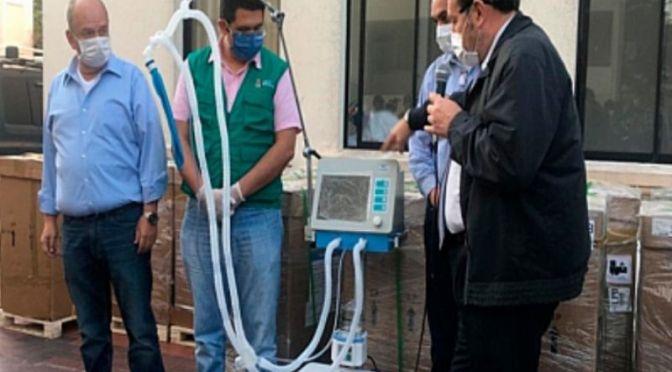 Presentan denuncian ante la Fiscalía por la compra de 324 respiradores chinos