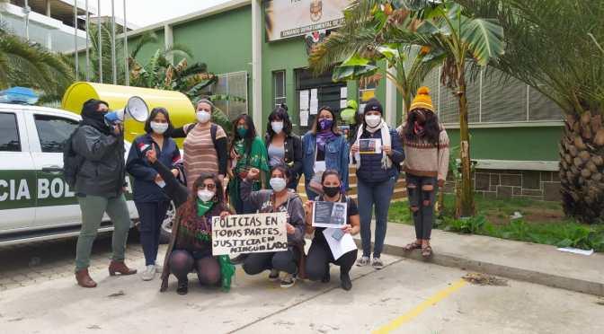 Mujeres de Tarija y Bolivia se pronunciaron en contra de la violencia machista policial